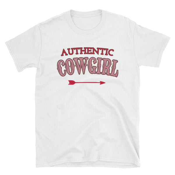 Authenic Cowgirl Short-Sleeve T-Shirt - Say it with Grace clothing co