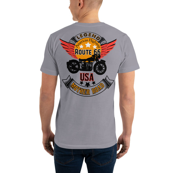 Route 66 unisex Short-Sleeve T-Shirt