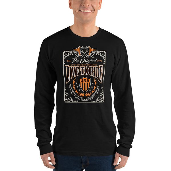 Live to ride Long sleeve t-shirt (unisex)