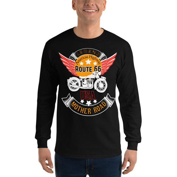 Route 66 unisex Long Sleeve T-Shirt
