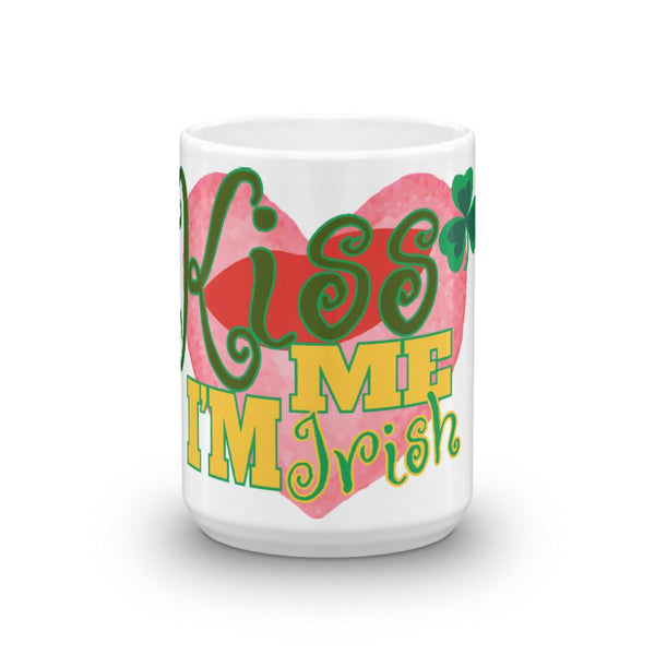 Kiss me I'm Irish Mug - Say it with Grace clothing co