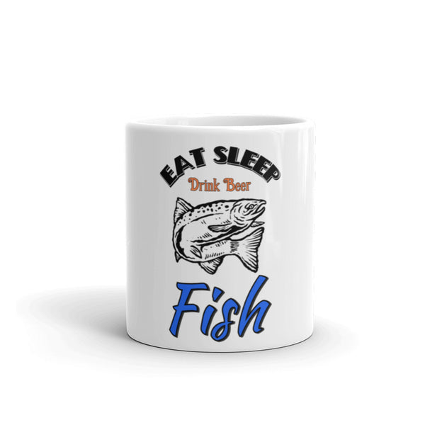 Eat sleep fish Mug