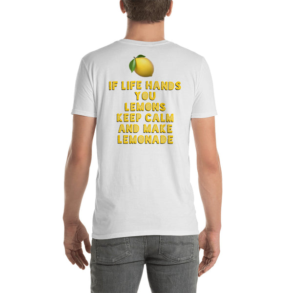 Lemon Short-Sleeve Unisex T-Shirt