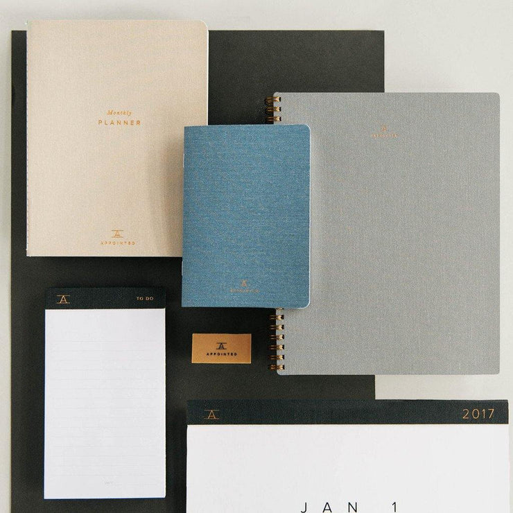 Cuaderno A5 gris Appointed
