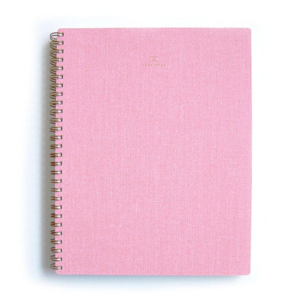 Cuaderno A5 rosa Appointed