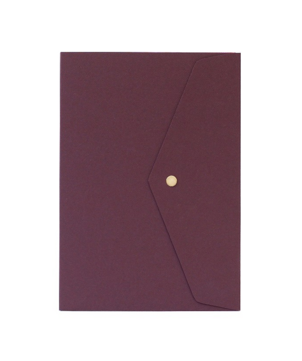 Atelier 225 - Notebook Grenat - Cuaderno Liso B5 (17 x 24 cm)