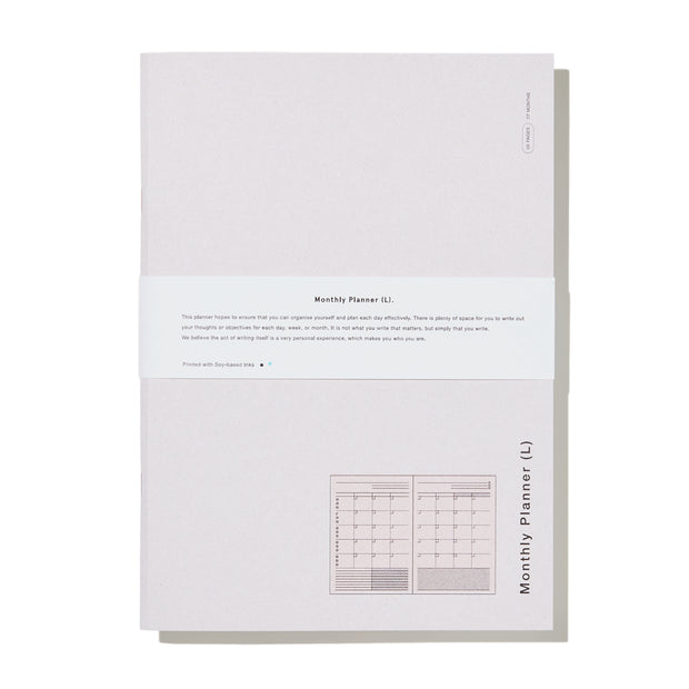 Before Breakfast - Monthly Planner L - Planificador Mensual A4 (27,5 x 19,5 cm)