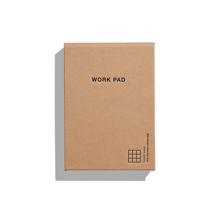 Before Breakfast – Work Pad Toffee – Bloc de notas A6 (12 x 9 cm)