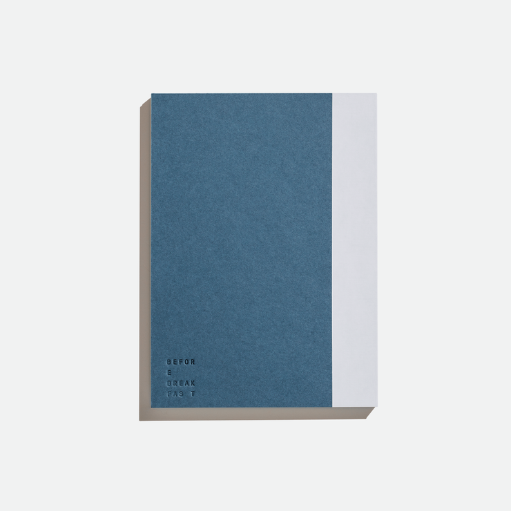 Before Breakfast – One Year Planner Stone Blue (Monthly + To Do) – Planificador Mensual A5 (19,6 x 14,1 cm)