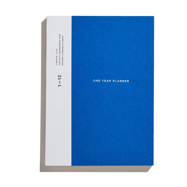 Before Breakfast – One Year Planner Ocean Blue (Monthly + To Do) – Planificador Mensual A5 (19,6 x 14,1 cm)