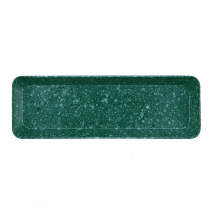 Hightide - Marble Pen Tray Green - Bandeja verde (23 x 7,7 cm)
