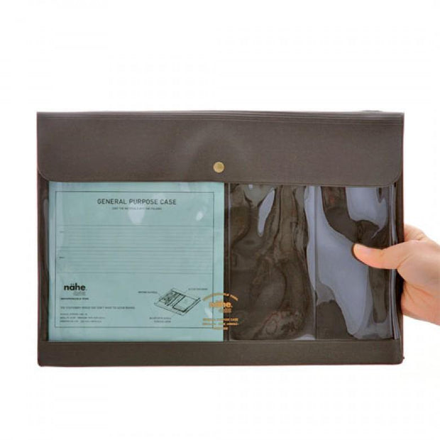 Hightide – Nähe General Purpose Case – Portadocumentos Menta A4 (35 x 25 cm)