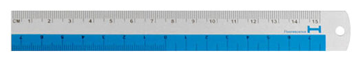 Hightide - Aluminum Ruler - Regla - 15cm