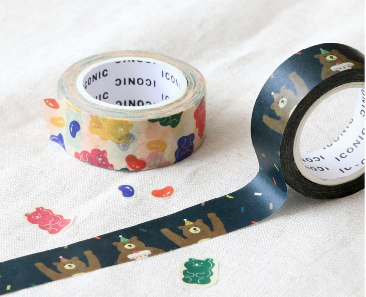 Iconic – Masking Tape 035 – Jelly bean