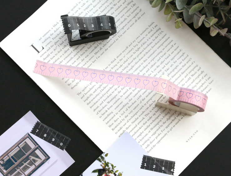 Iconic – Masking Tape 019 – Ruler Black