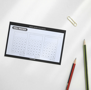 Iconic – Sticky pad Monthly Goal tracker – Planificador Mensual adhesiveo(14,5 x 8 cm)