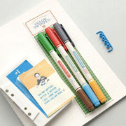 Iconic – Color Twin Pen – Set de 3 Bolígrafos de doble punta (14,5 cm)