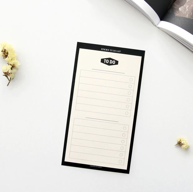 Iconic – Sticky To do list – Listas de Tareas adhesivas (14,5 x 8 cm)