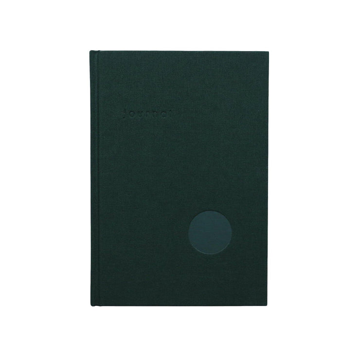 Kartotek - Hard Cover Journal - Cuaderno Verde Liso A5 (15 x 21 cm)