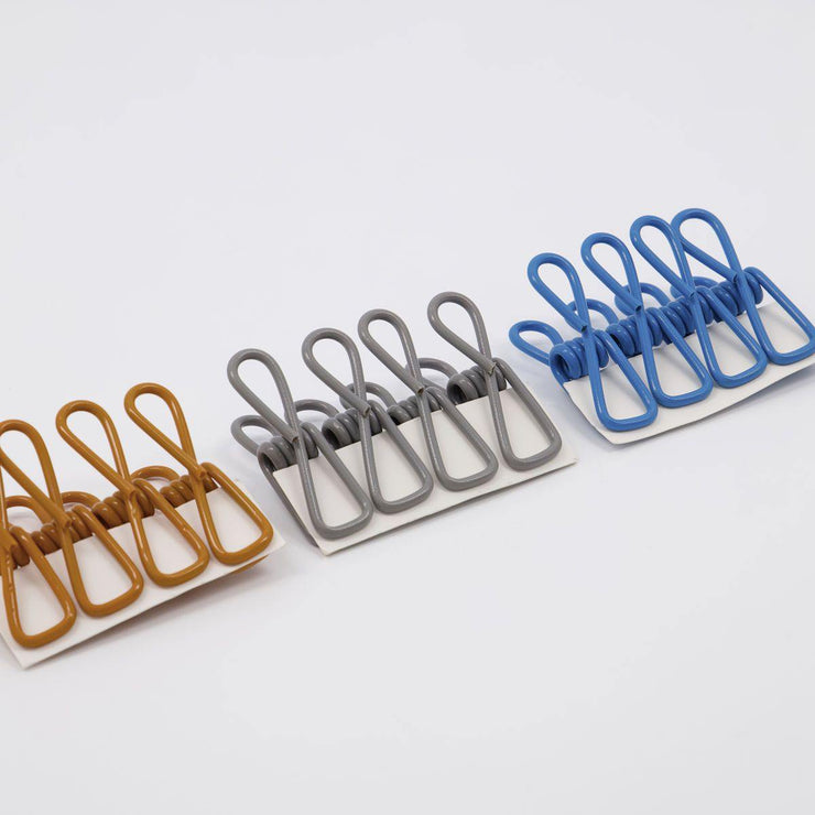Monograph - Opti - Set de 12 clips de colores (5,8 cm)