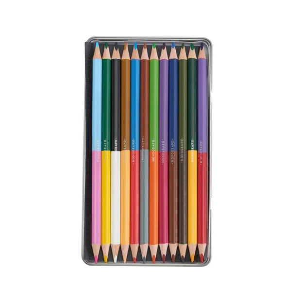 Monograph – Colour Pencil – Caja de lápices en 24 colores