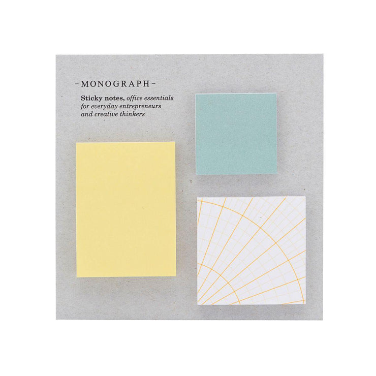 Sticky notes Monograph