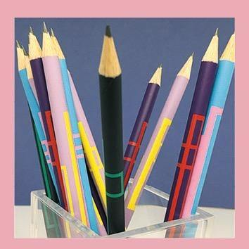 Papier Merveille – Kit Crayon– Set de 4 lápices (17,5cm)