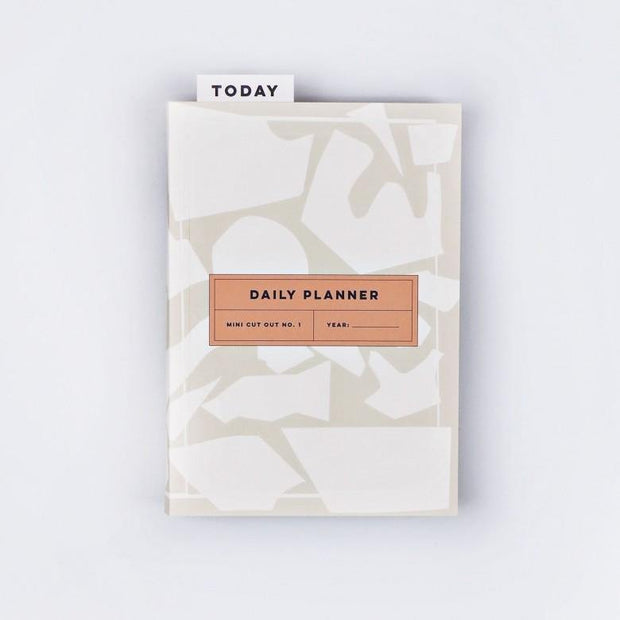 The Completist – Mini Cut Out Daily Planner – Planificador Diario A5 (15 x 21cm)