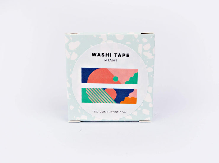 The Completist - Washi Tape - Miami
