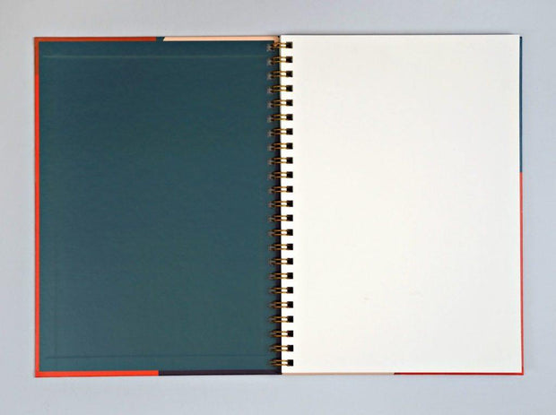 The Completist – Shapes Sketchbook – Cuaderno liso A4 (21 x 30 cm)