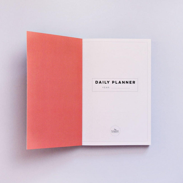 The Completist – Swirls Daily Planner – Planificador Diario A5 (15 x 21cm)