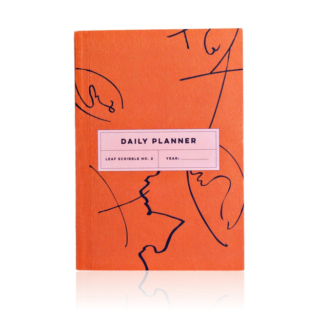 The Completist – Leaf Scribble  Daily Planner – Planificador Diario A5 (15 x 21cm)