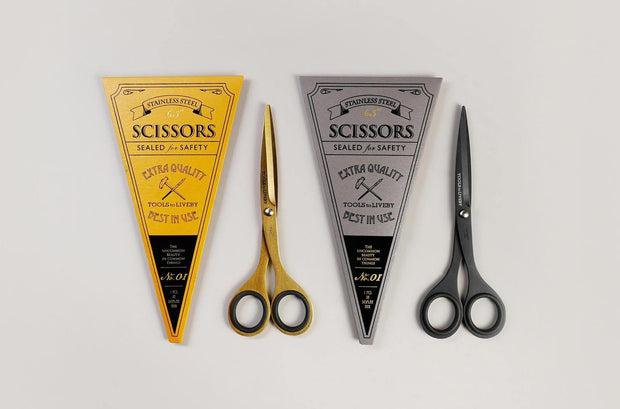 Tools to Liveby – Scissors - Tijeras Doradas (16,5cm)