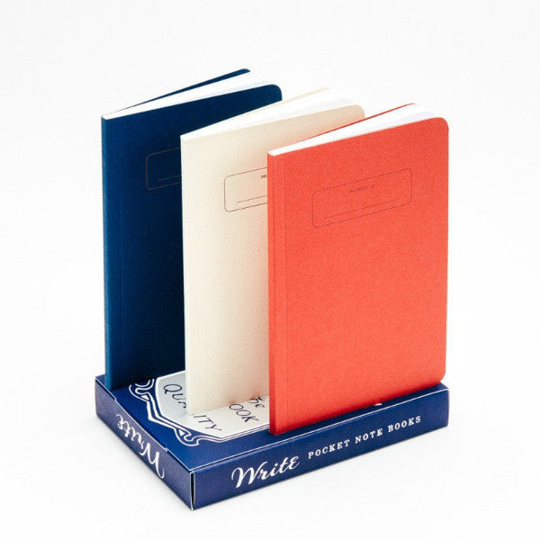 Set de 3 cuadernos Write Notepads & Co