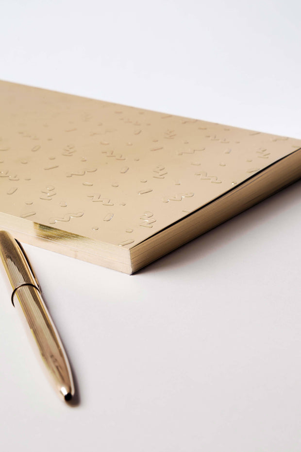 write sketch & metal notebook