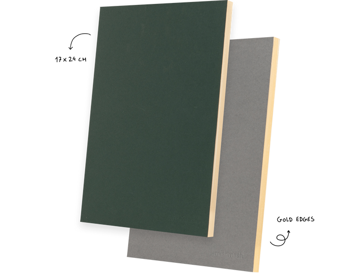 Mishmash – Holy Golden racing green- Cuaderno Liso A5 (17 x 24cm)