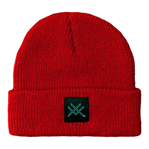 RIMFROST® - Red Short Beanie