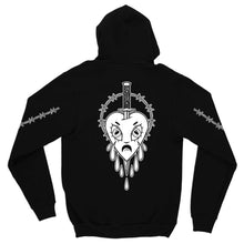 Load image into Gallery viewer, Cry Heart Zip Hoodie
