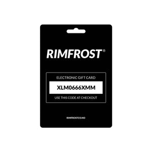 RIMFROST® - Gift Card