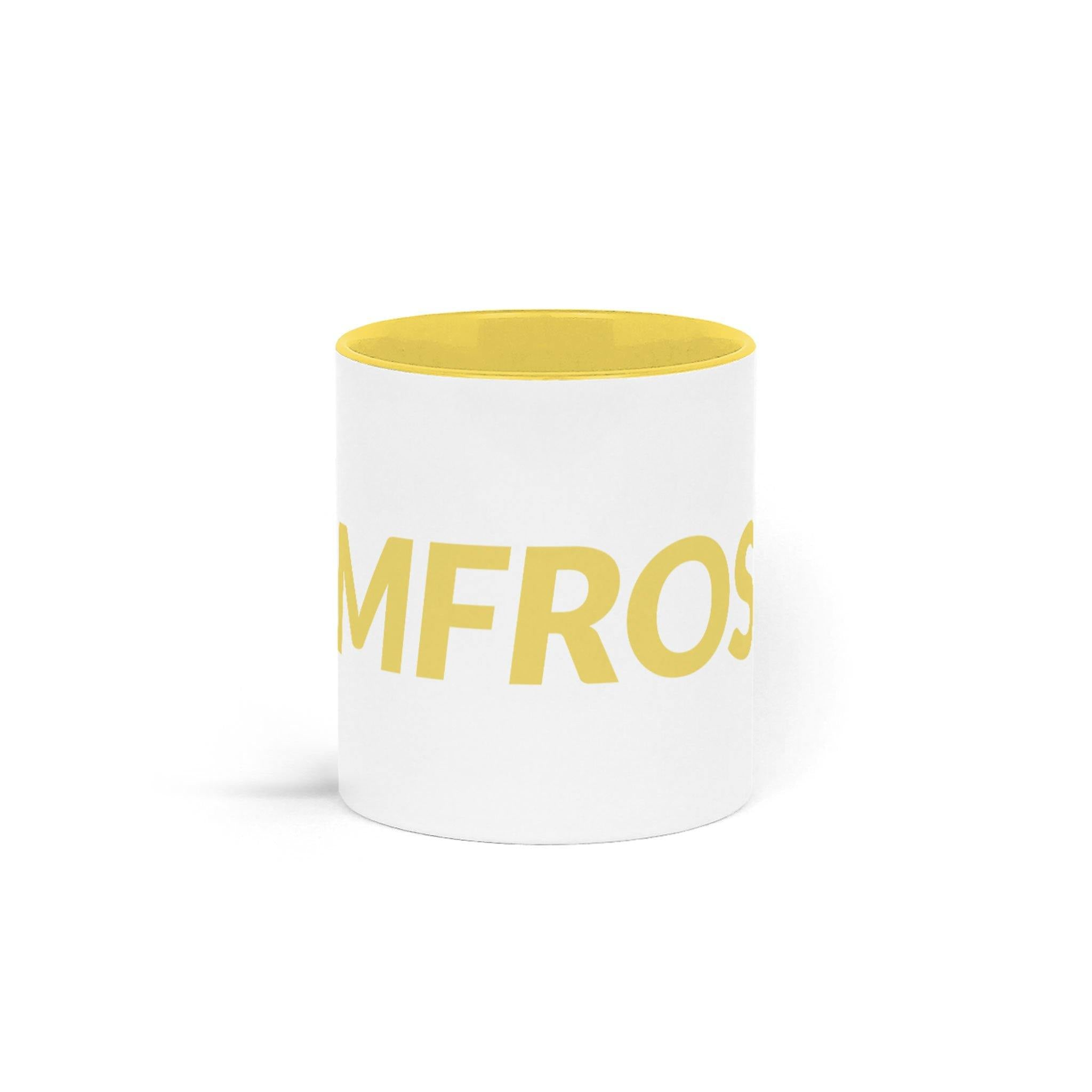 Yellow Two Tone Mug