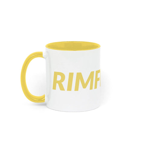 RIMFROST® - Yellow Two Tone Mug