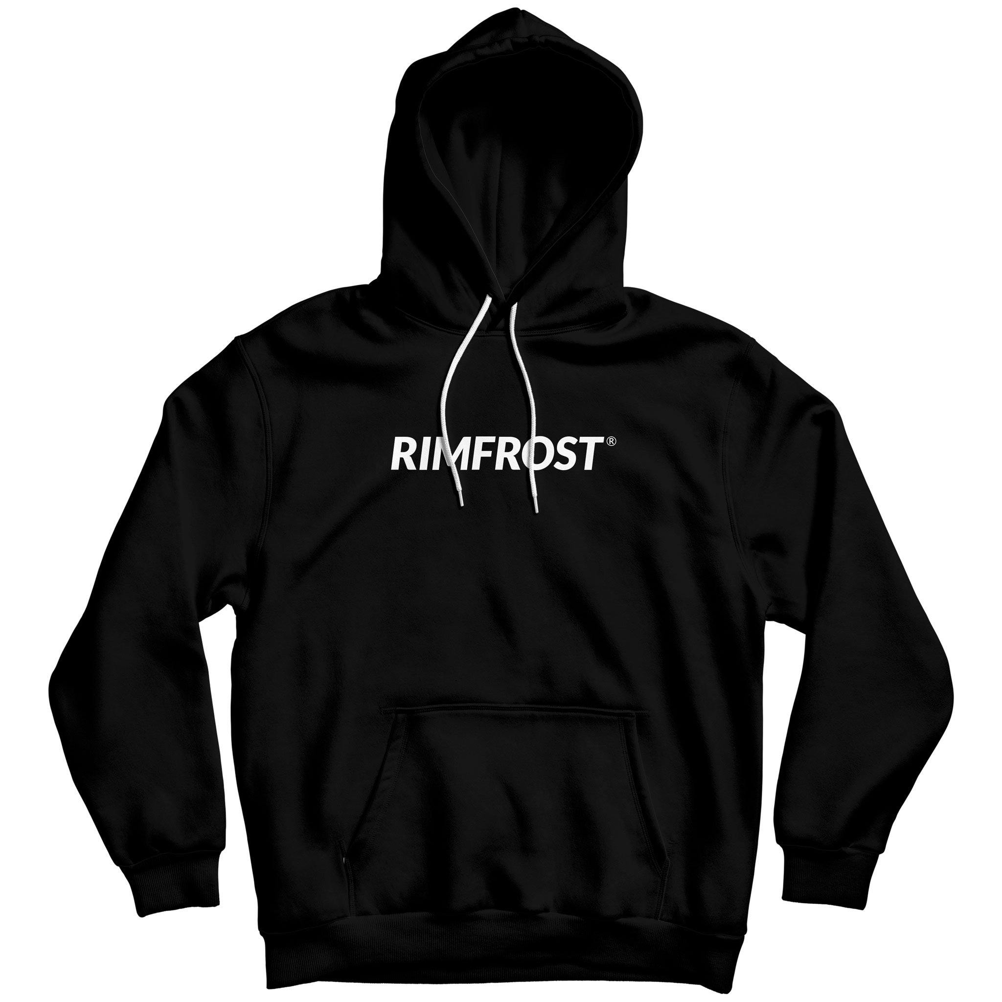 Sign Black Hoodie - RIMFROST®