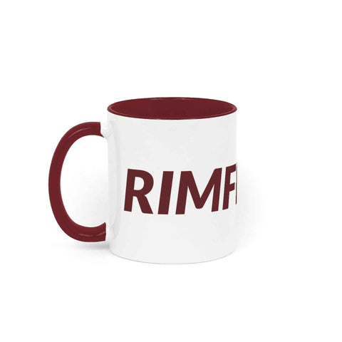 RIMFROST® - Bordeaux Red Two Tone Mug