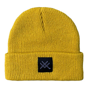 Yellow Short Beanie