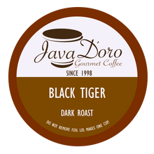 Load image into Gallery viewer, Black Tiger | Java D'oro Gourmet Coffee
