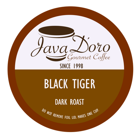 Black Tiger | Java D'oro Gourmet Coffee