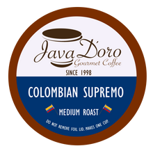 Load image into Gallery viewer, Colombian Supremo Coffee Pods - 18 Count