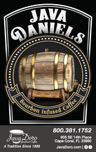 Load image into Gallery viewer, Java Daniels - Bourbon Barrel Aged Coffee