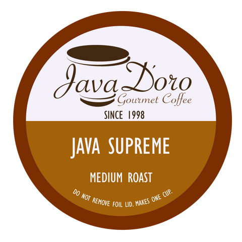 Java Supreme Java D'oro Cups | 20 Count