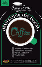 Load image into Gallery viewer, Java Supreme Decaf